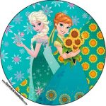 Imprimibles de Frozen Fever: imágenes, invitaciones, stickers, toppers