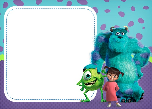 Imprimibles Monsters University para descargar