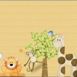 Kit Animalitos Safari para imprimir gratis y decorar