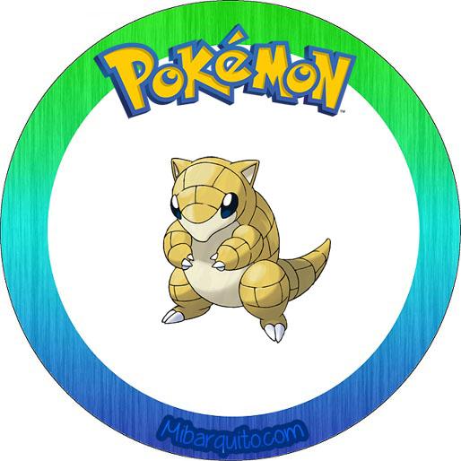 Toppers pokemon - imprimibles pokemon fiesta - candy bar pokemon