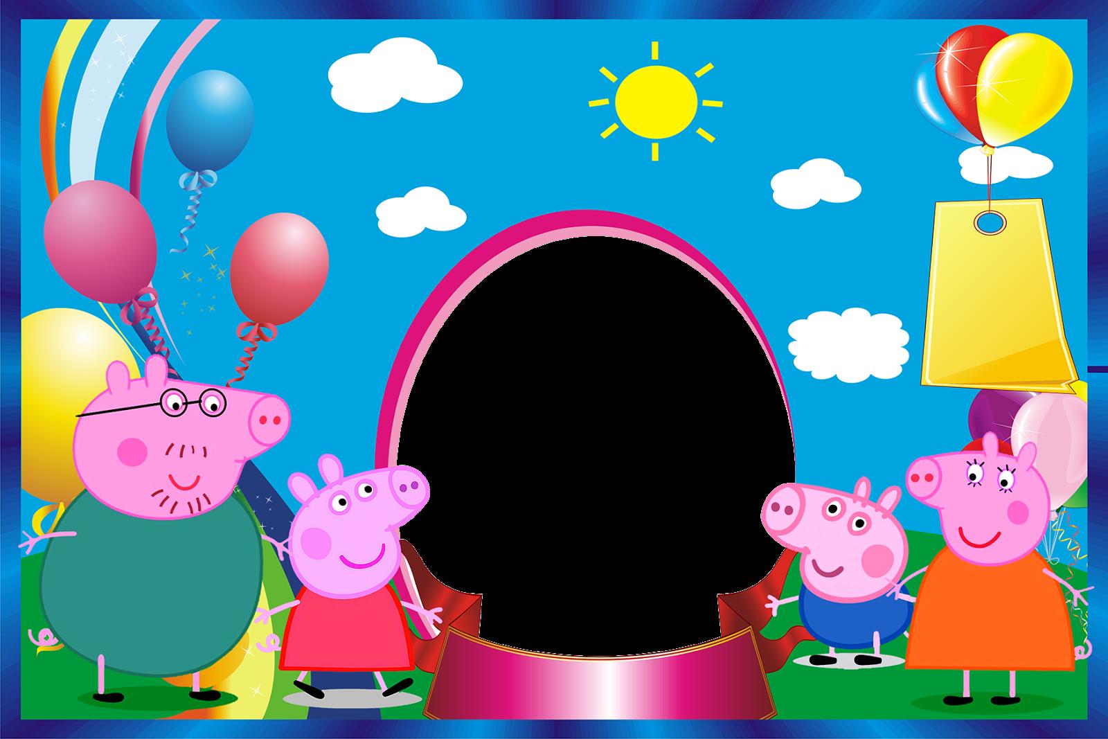 Imágenes de Peppa Pig para Cumpleaños