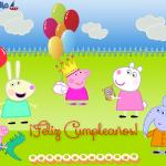 Imágenes de Cumpleaños de Peppa Pig y sus amigos