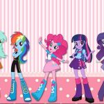 Equestria Girls My Little Pony kit imprimible para descargar gratis