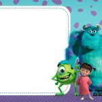 Cumpleaños de Monsters Inc imprimibles gratis para decoración