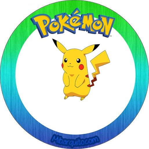 Imprimibles de Pokemon para decoración descarga gratis | Mi Barquito