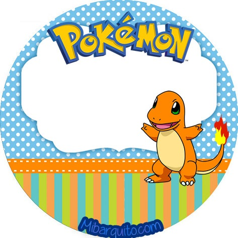 Imprimibles de Pokemon para decoración descarga gratis | Mi Barquito