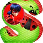 Letras Ladybug abecedario para descargar gratis