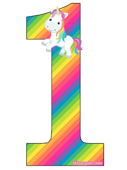 Numeros De Unicornios Para Descargar Gratis on Dibujos Para Imprimir Gratis