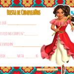 Elena de Avalor Invitaciones de Cumpleanos