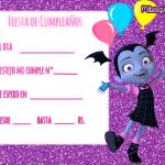 Vampirina Invitaciones de Cumpleaños