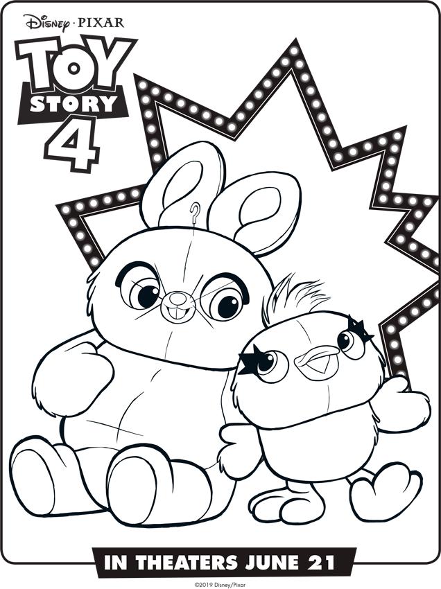 Toy Story 4 Dibujos Para Imprimir Mi Barquito